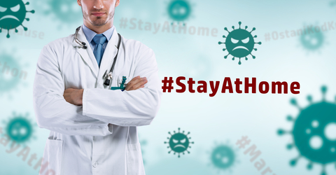 #stayathome atlanta medical staff