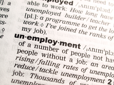 article about low employment rate in early 2020